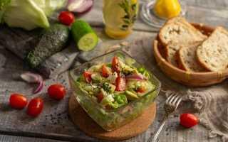 Пісний салат з авокадо. Покроковий рецепт з фото