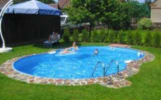 Як вибрати басейн для дачі — каркасні, надувні, відео