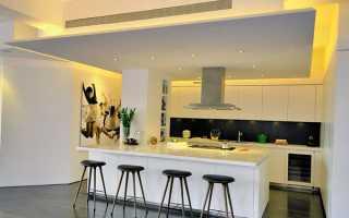 Стеля на кухні — як і з чого зробити, практичний вибір, відео
