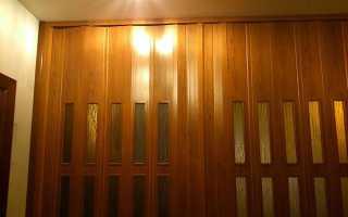 Двері гармошка — установка складається моделі, механізми, відео