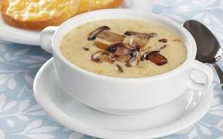 Сирний суп з грибами, як приготувати, рецепт з фото, відео