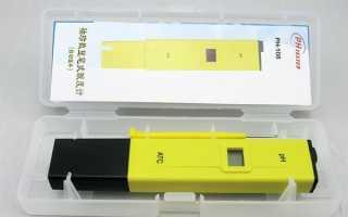 Кишеньковий цифровий PH метр, зроблений в Китаї, технічні характеристики, ціна, відео