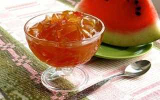 Варення з кавунових кірок в домашніх умовах простим рецептом, з додаванням апельсина або лимона, відео