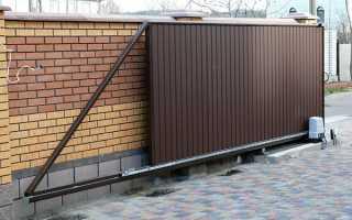 Зсувні ворота — типи і особливості різних конструкцій, відео