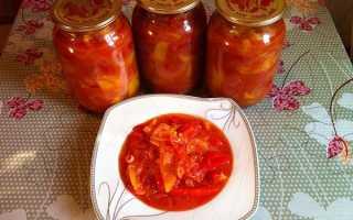 Перець в томатному соку на зиму, лечо з болгарського перцю, рецепти консервації, відео