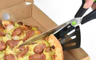 Ніж-ножиці з Китаю для піци — характеристика вироби, ціна, відео