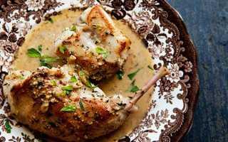 Кролик тушкований в сметані — рецепти приготування в духовці, мультиварці, з картоплею, відео