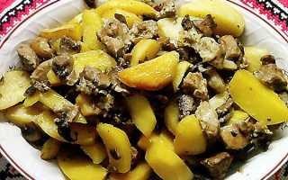 Картопля з грибами в духовці, мультиварці, горщиках, рецепти з фото, відео