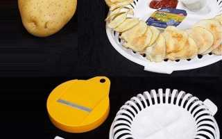 Чіпсніца з Китаю для приготування чіпсів в мікрохвильовці, відео