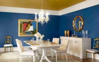 Фарбування стін на кухні — вибір виду фарби, кольору, якість, відео