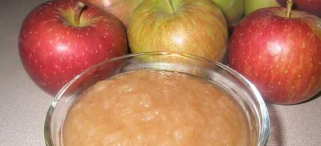 Кращі рецепти яблучного пюре на зиму в домашніх умовах з фото