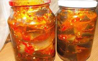 10 рецептів заготовок з баклажанів в льох — рекомендації, фото з описом, відео