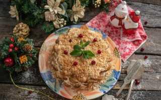 Лінивий торт «Наполеон» без випічки. Покроковий рецепт з фото
