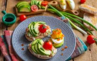 Тости на сніданок з авокадо і яєчним салатом. Покроковий рецепт з фото