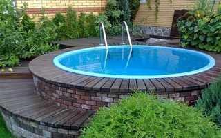 Басейни для дачі — як побудувати стаціонарний басейн своїми руками, як встановити каркасну конструкцію, відео