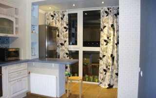 Об'єднання балкона з кухнею або кімнатою, поєднання лоджії, відео