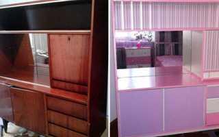 Переробка меблів своїми руками, реставрація шафи, столу, відео