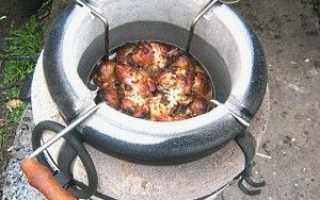 Керамічна піч Тандир — використання на дачі для приготування їжі, відео