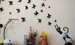 Метелики з паперу — як зробити, трафарет для вирізання, шаблони для роздруківки, відео
