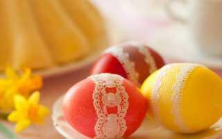 Як пофарбувати яйця на Великдень 2019 своїми руками в домашніх умовах