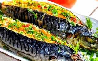 Скумбрія, запечена в духовці з картоплею, овочами, в гірчичному соусі, рецепти, відео