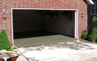 Покриття для підлоги в гаражі — полімерне, гумове, фарба, відео