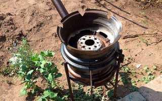 Барбекю — мангал з автомобільного диска, тонкощі виготовлення, відео