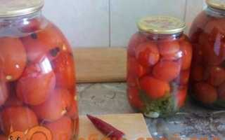 Смачні мариновані помідори на зиму без стерилізації покроковий рецепт з фото