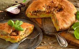 Англійська пиріг з картоплею і м'ясом. Покроковий рецепт з фото