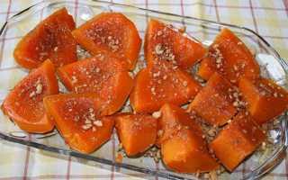 Гарбуз запечена в духовці — рецепти приготування з медом, м'ясом, часточками, фото, відео