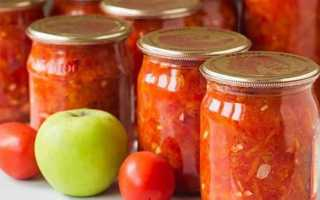 Аджика з яблуками на зиму — кращі рецепти з фото крок за кроком