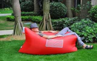 Надувний диван з Китаю, ціна, відео