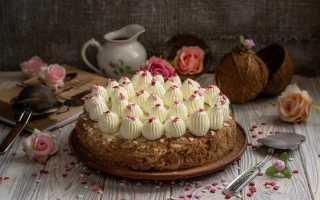 Кокосовий торт «кухен» — райська насолода. Покроковий рецепт з фото
