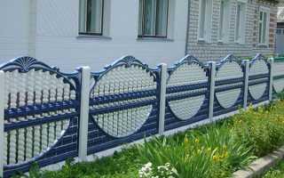 Бетонний паркан своїми руками монолітний, секційний, встановлення бетонних стовпів, відео