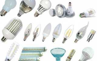 Штучна підсвічування — правила вибору і використання різних видів ламп, відео