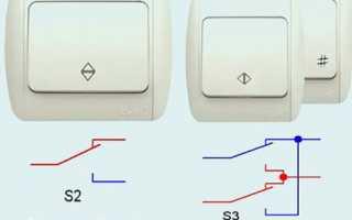 Прохідний вимикач — як підключити, схема управління, відео