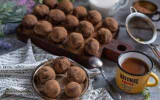 Домашні трюфелі з темного шоколаду з віскі. Покроковий рецепт з фото