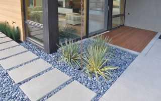 Сад на дачі — оформлення в стилі хай-тек, підбір рослин, меблів, відео