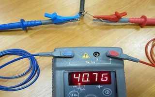 Робота з мегаомметром — як заміряти опір, прозвонка, відео