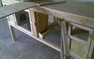 Як зробити клітку для кроликів для приміщення і для вулиці, відео