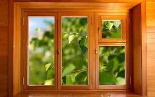 Дерев'яні вікна зі склопакетами для дачі від виробника, своїми руками, ФІДЕ