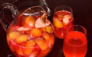 Компот з груш і слив на зиму — рецепти приготування напою зі стерилізацією і без стерилізації, відео