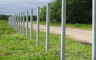 Стовпи для забору — металеві, бетонні, гвинтові, цегляні, дерев'яні, установка, відео