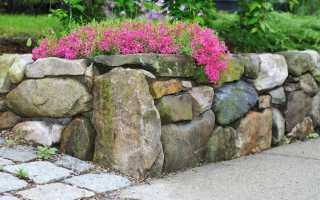 Підпірні стінки — які бувають і як їх створити? Види, особливості зведення. фото