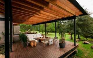 3 модних варіанти облаштування тераси. фото