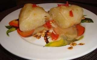 Голубці з картоплею — варіанти приготування начинки, відео