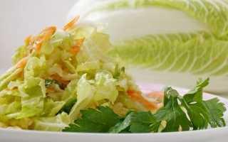 Легкий салат з пекінської капусти. Покроковий рецепт з фото