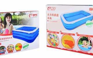 Надувний басейн для дачі — огляд товару, ціна, відео