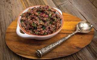 Лобіо з червоної квасолі класичний рецепт по-грузинськи з томатною пастою
