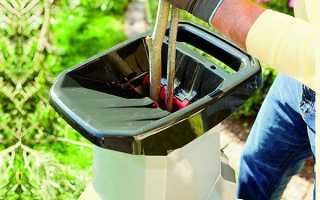 Подрібнювач гілок садовий електричний — огляд моделі Шредер, Вікінг, креслення виготовлення подрібнювача своїми руками, відео